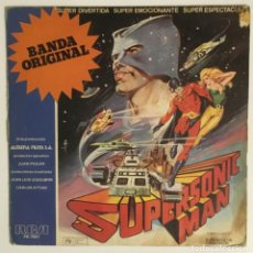 Discos de vinilo: SUPERSONIC MAN. BSO. RCA, 1979. Lote 238883600