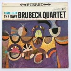 Discos de vinilo: THE DAVE BRUBECK QUARTET – TIME OUT JAPAN,1962 COLUMBIA. Lote 238886265