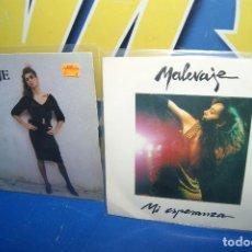 """Discos de vinilo: LOTE 2 EPS VINILOS 7""""-DISCOS MALEVAJE – MARGOT + MI ESPERANZA -DESCATALOGADOS. Lote 238915890"""
