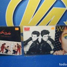 "Discos de vinilo: LOTE 3 EPS VINILOS 7""-WHAM! – BAD BOYS +WAKE ME UP BEFORE YOU GO-GO +YOUNG GUNS. Lote 238977235"