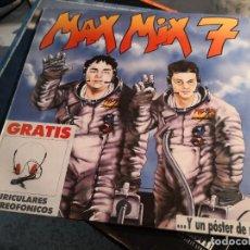 Discos de vinilo: DISCO VINILO LP MAX MIX 7 DOBLE DISCO. Lote 239369855