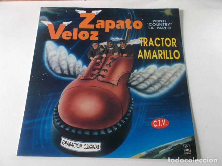 ZAPATO VELOZ.....PONTI COUNTRY LA PARED - TRACTOR AMARILLO + OTROS -1992 (Música - Discos - LP Vinilo - Grupos Españoles de los 90 a la actualidad)