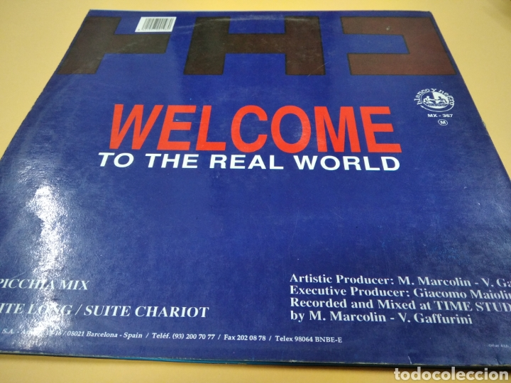 Discos de vinilo: Maxi Single Techno Hype Council Welcome to the Real World Lp - Foto 2 - 239373020
