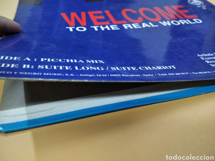 Discos de vinilo: Maxi Single Techno Hype Council Welcome to the Real World Lp - Foto 6 - 239373020