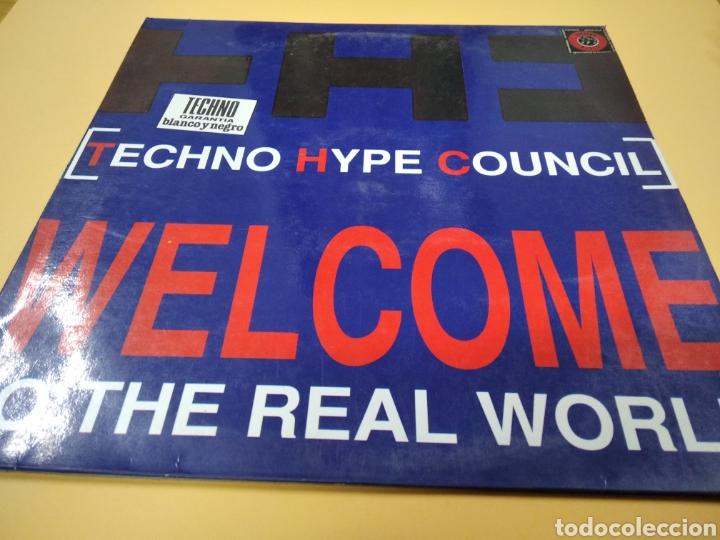 MAXI SINGLE TECHNO HYPE COUNCIL WELCOME TO THE REAL WORLD LP (Música - Discos - LP Vinilo - Techno, Trance y House)