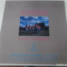 Discos de vinilo: FONOTECA DE MATERIALS - TALLERS DE MÚSICA POPULAR VOL. XXI - LA TODOLELLA, COMPLETO. Lote 239377665