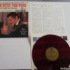 Discos de vinilo: VINILO EDICIÓN JAPONESA BANDA SONORA GONE WITH THE WIND BP7590 ( LO QUE EL VIENTO SE LLEVÓ ). Lote 239391580