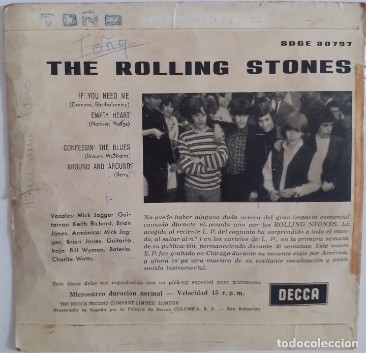 Discos de vinilo: ROLLING STONES. IF YOU NEED ME.... - Foto 2 - 239402115