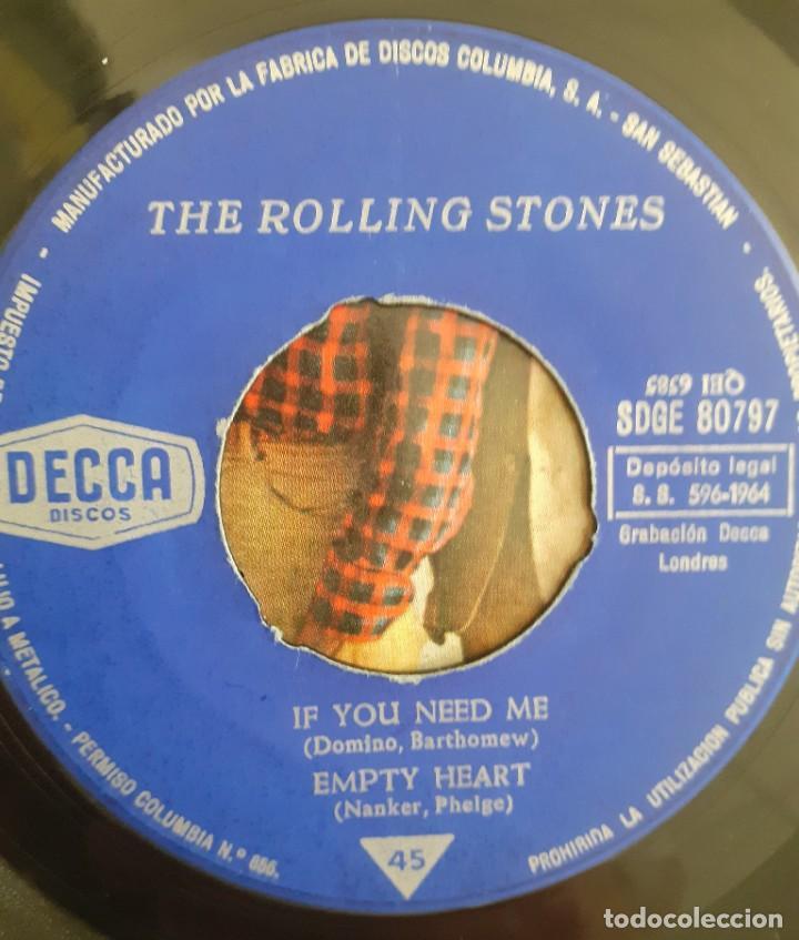 Discos de vinilo: ROLLING STONES. IF YOU NEED ME.... - Foto 3 - 239402115