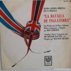 Discos de vinilo: LA BATALLA DE INGLATERRA. RON GOODWIN. WILLIAM WALTON. Lote 239404000