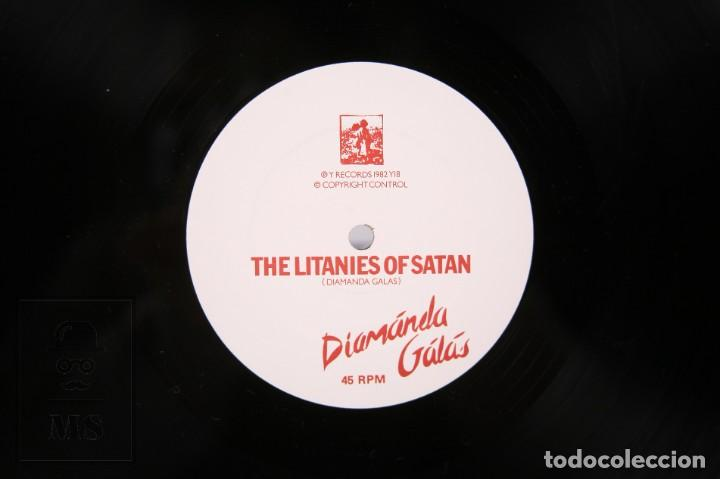 Discos de vinilo: Disco LP De Vinilo - Diamánda Galás / The Litanies Of Satan, Wild Women.... - Y Records - Año 1982 - Foto 2 - 239425665