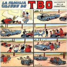 Discos de vinilo: LA FAMILIA ULISES DE TBO - INCIDENTE EN LA CARRETERA - EP SPAIN 1968 - DISCOPHON - BENEJAMA. Lote 239438270