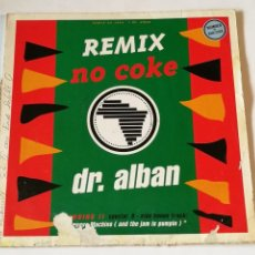 Dischi in vinile: DR. ALBAN - NO COKE (REMIX) - 1991. Lote 239446590