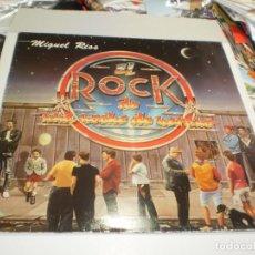 Discos de vinilo: LP MIGUEL RÍOS. EL ROCK DE UNA NOCHE DE VERANO. POLYDOR 1983 FUNDA INTERIOR (PROBADO, BUEN ESTADO). Lote 239451790
