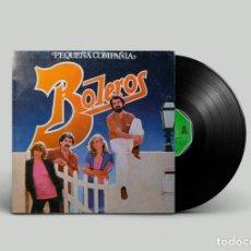 Discos de vinilo: PEQUEÑA COMPAÑIA – BOLEROS. Lote 239461270