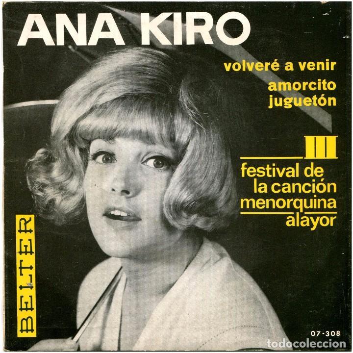 Discos de vinilo: Volvere A Venir / Amorcito Jugueton - Sg Spain 1966 - Belter 07-308 - Foto 2 - 239463455