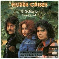 Discos de vinilo: NUBES GRISES – EL SOLITARIO. Lote 239472575