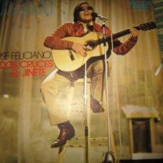 Discos de vinilo: JOSE FELICIANO - DOS CRUCES / EL JINETE SINGLE ORIGINAL ESPAÑOL - RCA RECORDS 1971 MUY NUEVO (5). Lote 239473775