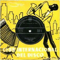 Discos de vinilo: GERALDO LA VINY Y SU ORQUESTA - BAILANDO CHA-CHA-CHA - EP SPAIN 1959 - CID-PCM-1722. Lote 239479245