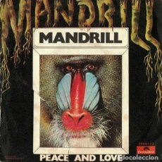 Discos de vinilo: MANDRILL ‎– MANDRILL / PEACE AND LOVE. Lote 239479475