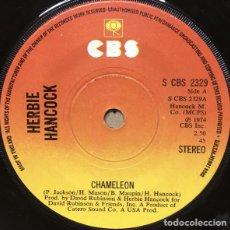 Discos de vinilo: HERBIE HANCOCK – CHAMELEON / VEIN MELTER. Lote 239483485