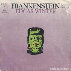 Discos de vinilo: EDGAR WINTER – FRANKENSTEIN. Lote 239485605