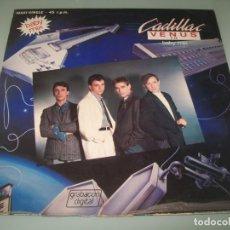Discos de vinilo: CADILLAC - VENUS (BABY MIX) ..MAXISINGLE - POLYDOR DE 1984 - GRABACION DIJITAL. Lote 239494545