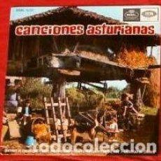 Discos de vinilo: CANCIONES ASTURIANAS (DISCO EP) MARGARITA BLANCO - GAITA SILVINO BLANCO - ASTURIAS. Lote 239510500