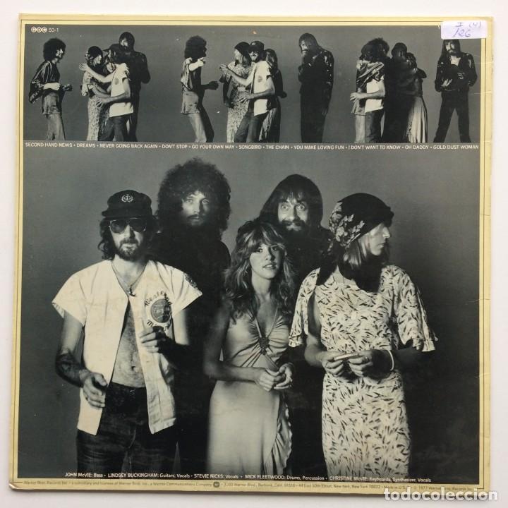 Discos de vinilo: Fleetwood Mac – Rumours Scandinavia,1977 Warner Bros Records - Foto 2 - 239518950