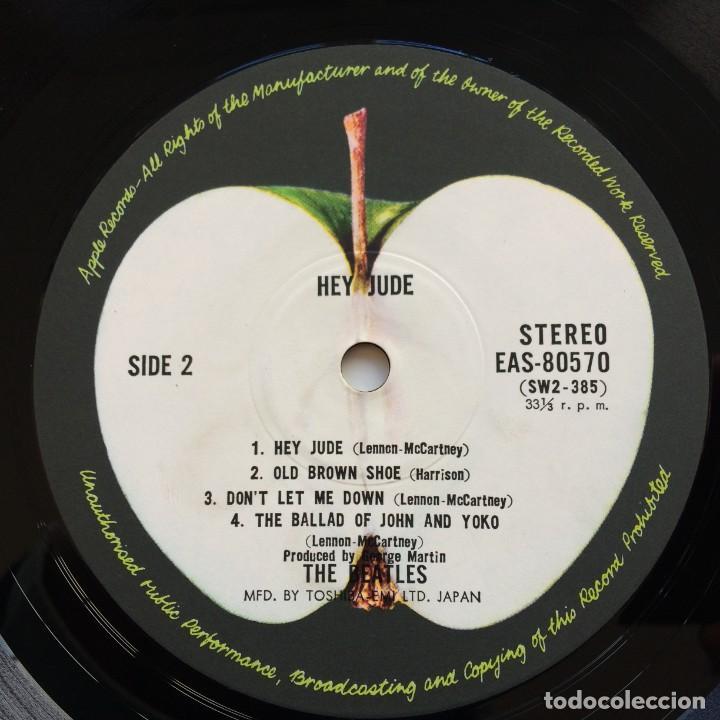 Discos de vinilo: The Beatles – Hey Jude Japan,1976 Apple Records - Foto 6 - 239519345