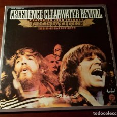 Discos de vinilo: CREEDENCE CLEARWATER REVIVAL - CHRONICLE - THE 20 GREATEST HITS - 2 LP.S. Lote 239520975