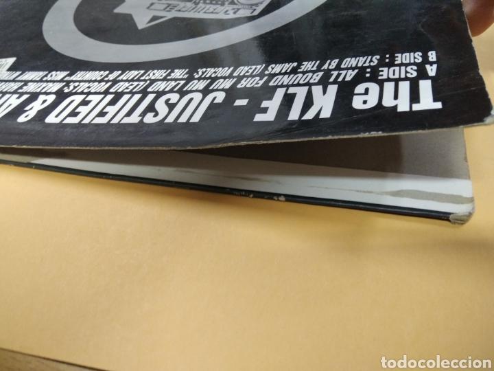 Discos de vinilo: The KLF Justified & Ancient Lp - Foto 6 - 239549520