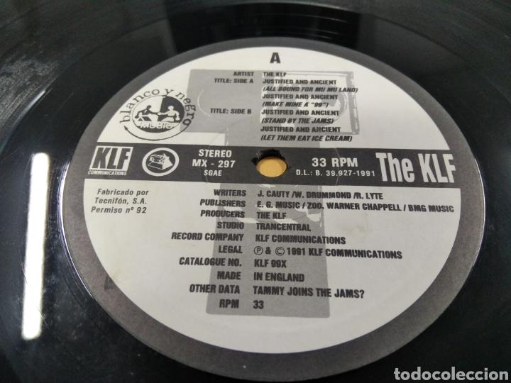 Discos de vinilo: The KLF Justified & Ancient Lp - Foto 7 - 239549520