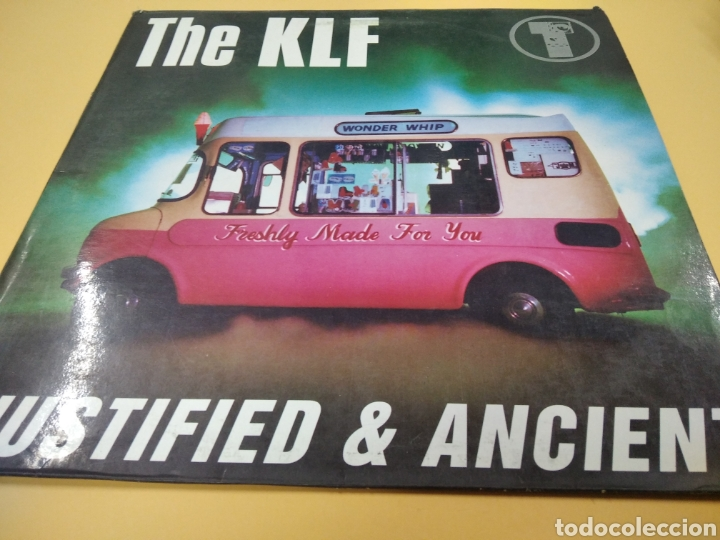 THE KLF JUSTIFIED & ANCIENT LP (Música - Discos - LP Vinilo - Techno, Trance y House)