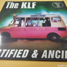 Discos de vinilo: THE KLF JUSTIFIED & ANCIENT LP. Lote 239549520