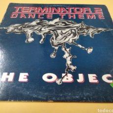 Discos de vinilo: MAXI SINGLE THE OBJECT TERMINATOR 2 DANCE THEME. Lote 239550180
