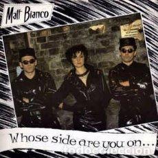 """Discos de vinilo: MATT BIANCO - WHOSE SIDE ARE YOU ON? (12"""") LABEL:WEA, WEA CAT#: YZ9 (T), YZ9T. Lote 239586280"""