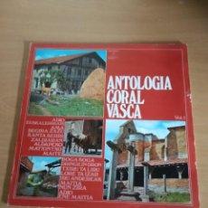 Discos de vinilo: ANTOLOGIA CORAL VASCA VOLUMEN 1, VER CONTENIDO EN FOTOGRAFIA DEL DORSO. Lote 239597080