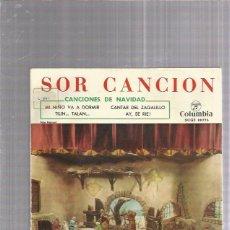 Discos de vinilo: SOR CANCION MI NIÑO VA A DORMIR. Lote 239601335