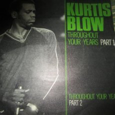 Discos de vinilo: KURTIS BLOW - THROUGHOUT YOUR EARS SINGLE ORIGINAL ESPAÑOL - MERCURY RECORDS 1981. Lote 239611020