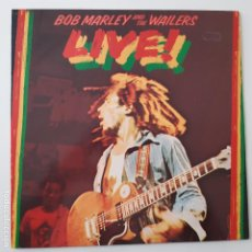 Disques de vinyle: BOB MARLEY AND THE WAILERS- LIVE! AT THE LYCEUM- SPAIN LP 1978.. Lote 239645390