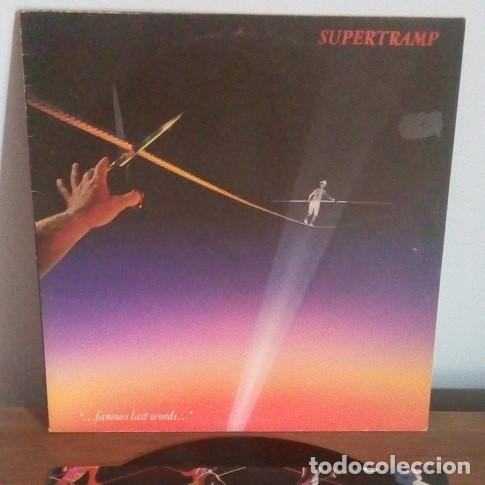 Discos de vinilo: SUPERTRAMP - FAMOUS LAST WORDS - LP - 1982 - Foto 1 - 236276610