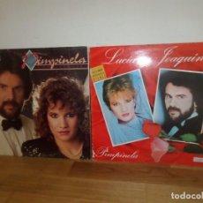 Disques de vinyle: PIMPINELA - LUCIA Y JOAQUIN + CONVIVENCIA - LOTE DE 2 LPS - DISPONGO DE MAS DISCOS DE VINILO. Lote 239655210