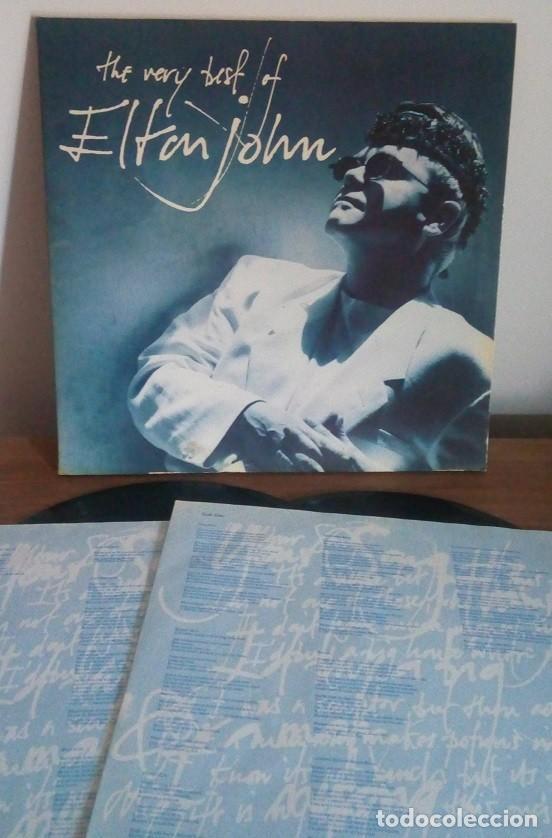 Discos de vinilo: ELTON JOHN - THE VERY BEST OF ELTON JOHN - 2 LP - DOBLE CARPETA - 1990 - Foto 2 - 236254910