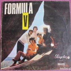 Discos de vinilo: 10 PULGADAS - FORMULA V - MISMO TITULO (SPAIN, PERGOLA 1969, CIRCULO DE LECTORES). Lote 239673095