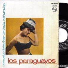 Discos de vinilo: LOS PARAGUAYOS - LA PALOMA. Lote 239676515