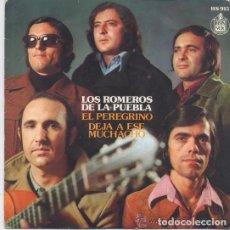 Discos de vinilo: LOS ROMEROS DE LA PUEBLA - EL PEREGRINO. Lote 239676895