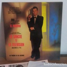 Discos de vinilo: UN PINGÜINO EN MI ASCENSOR - LA SANGRE Y LA TELEVISION - (BLOOD & TV) - 1990 - LP. Lote 225884005