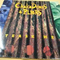 Discos de vinilo: CHAKA DEMUS & PLIERS TEASE ME. Lote 239677945