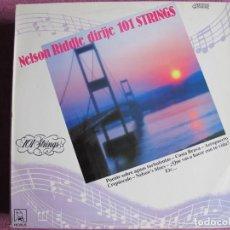 Disques de vinyle: LP - NELSON RIDDLE WITH 101 STRINGS (SPAIN, DISCOS HORUS 1987). Lote 239680400